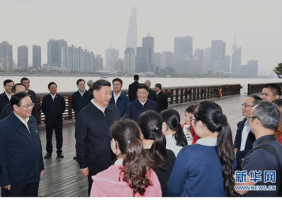 习近平在上海考察时强调:深入学习贯彻党的十九届四中全会精神