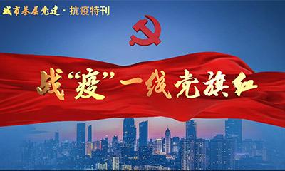 """公益专题片《战""""疫""""一线党旗红》"""