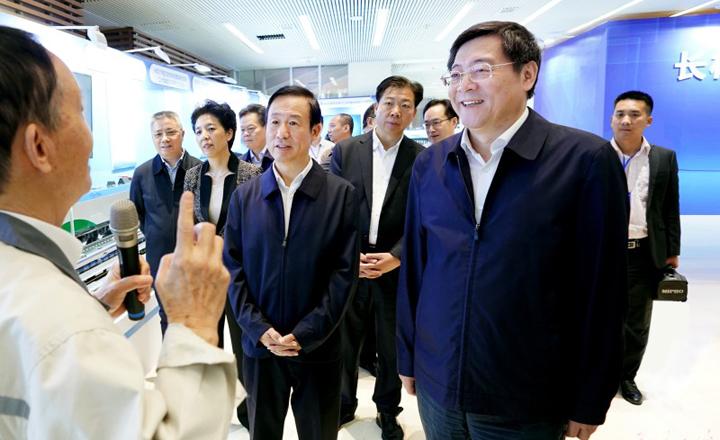 长株潭国家自主创新示范区成果展(2015-2020)开展