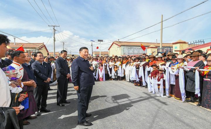 习近平:坚持以人民为中心深化改革开放 深入推进青藏高原生态保护和高质量发展